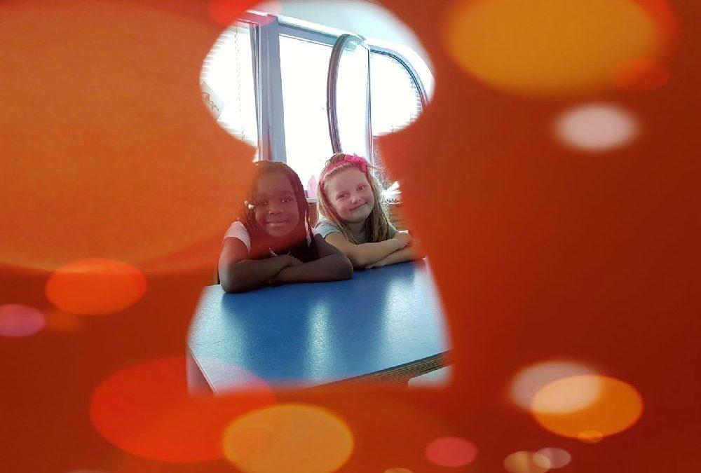 Ein-Blick in die orange Gruppe